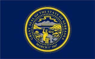 nebraska colors flags of the fifty states nebraska