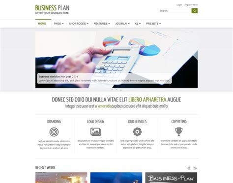 joomla templates for business free business plan ii free responsive business joomla template