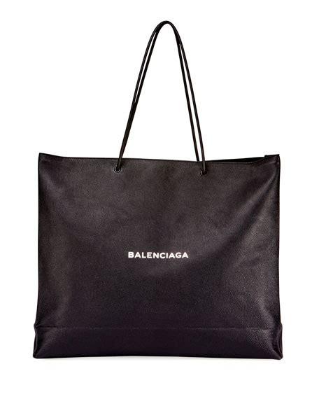 Balenciaga Bacon East West Bag by Laurent Monogram Matelasse Shopper Bag White