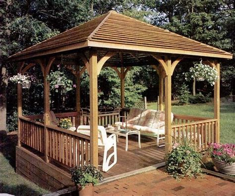 free gazebo plans 27 cool and free diy gazebo plans design ideas to build