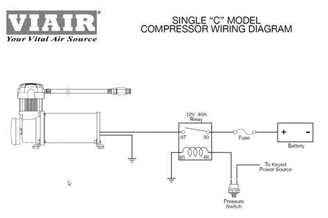 viair 100c compressor horns air ride suspension bags load support ebay