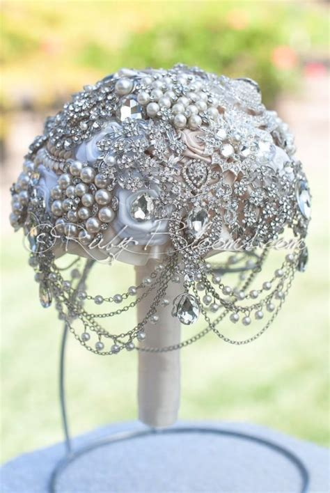 wedding bouquet jewellery pearl wedding brooch bouquet quot i found you