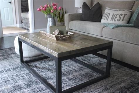 diy industrial style dining table 25 best ideas about industrial coffee tables on
