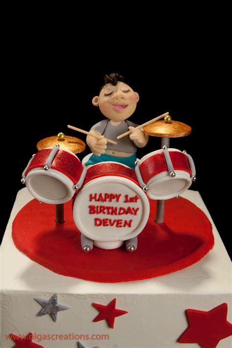cake drummer birthday cake just a drummer cakecentral