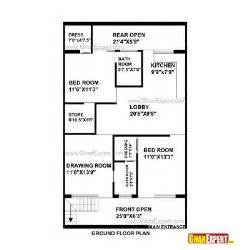 how big is 48 square 30 x 48 ft site east facing duplex house plans