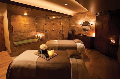salon room esthetician treatment room stein eriksen lodge adds wellness studio to luxe alpine experience
