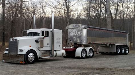 trucking companies with kenworth w900 george babcock s 2016 kenworth w900 glider