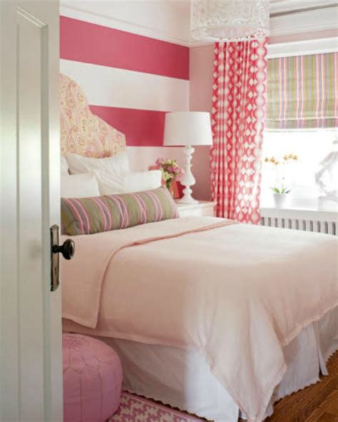 how to paint horizontal stripes on a bedroom wall cute girl rooms
