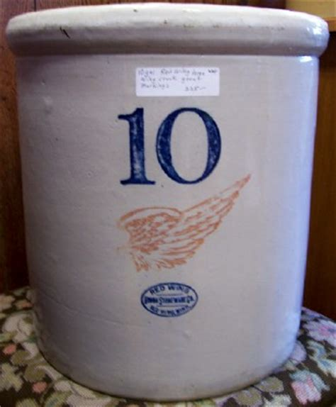 10 gallon ceramic crock antique wing crocks for sale