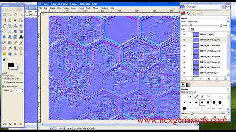 tutorial normal map gimp advance normal map generation in gimp youtube