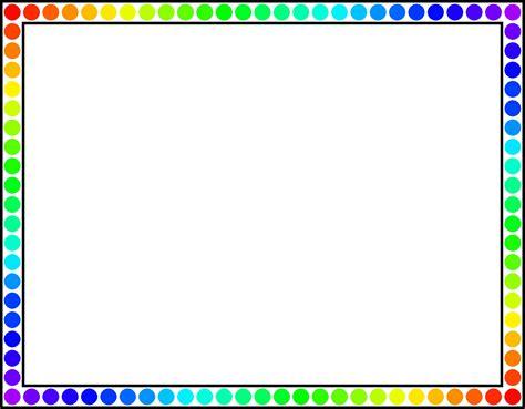 color frame color frames clipart png