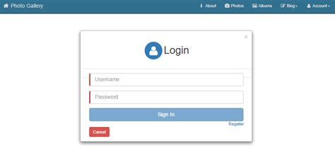 login page design templates in asp net cross platform single page applications with asp net