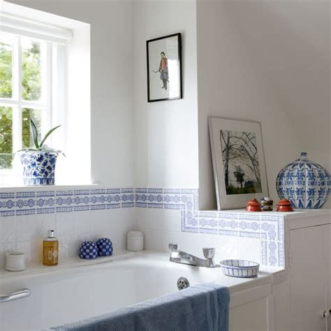 White And Blue Bathroom Ideas Blue Bathroom Bathrooms Design Ideas Image Housetohome Co Uk