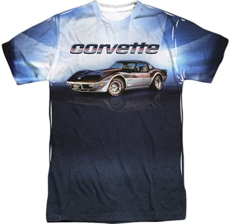 Tshirt Cars c3 corvette 1978 pace car t shirt chevymall