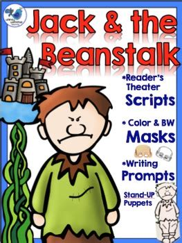 printable masks jack and the beanstalk jack and the beanstalk literacy set scripts masks and