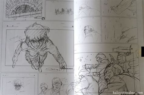 libro the art of ghost ghost in the shell genga collection art book animation layout rese 241 as de libros
