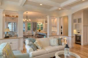 Coastal Dining Room Concept Classic Cottage Style Living Room Other Metro By Mac Custom Homes