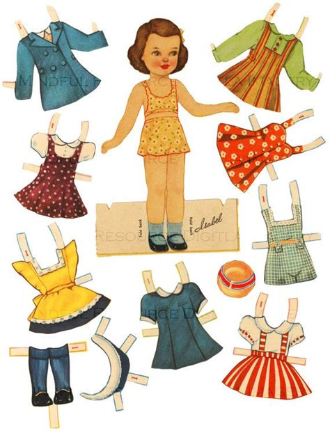 17 best images about paper dolls 30 s 40 s fashion on