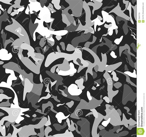 grey army pattern abstract vector military camouflage background stock