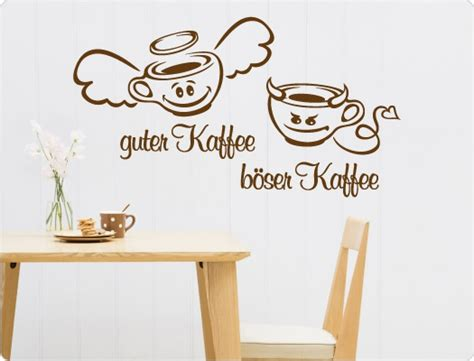 guter kaffee böser kaffee wandtattoo guter kaffee b 246 ser kaffee i wandtattoo de