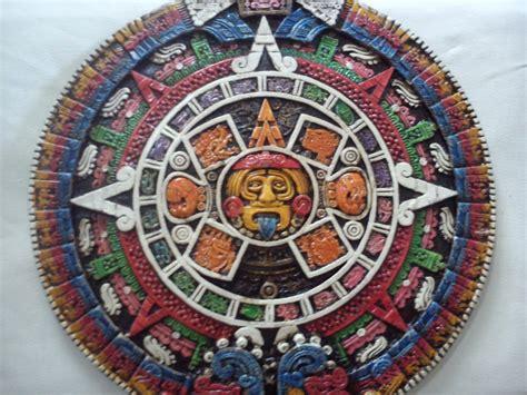 Calendario Y Azteca El Mismo Calendario Azteca Tallado En Piedra Caliza 100