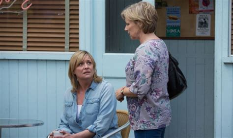 meet the mitchells ronnie and roxy join cousin phil on eastenders eastenders ronnie catches roxy vincent gets a beating