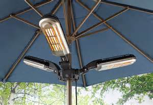 patio umbrella fan umbrella pole patio heater sharper image