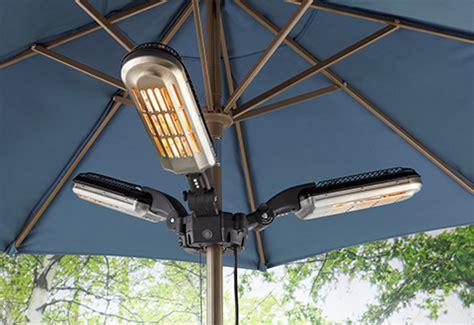 Patio Umbrella Fan Umbrella Pole Patio Heater Sharper Image