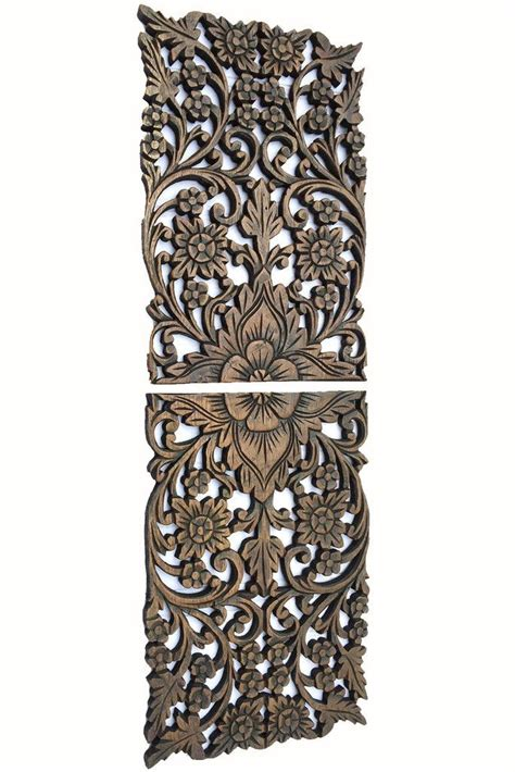 88 best carved wood wall decor by asiana home decor images on timber walls wood