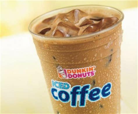 Iced Coffee Dunkin Donuts friday freebies on b105 7 free dunkin donuts iced coffee more