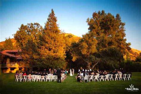 ranch wedding venues in los angeles county the best san fernando valley wedding venues officiant