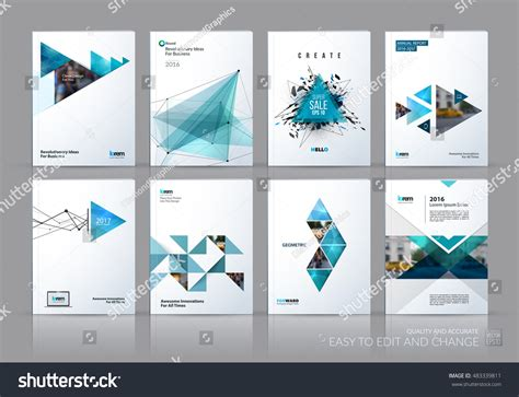 layout cover photo brochure template layout cover design annual stock vector