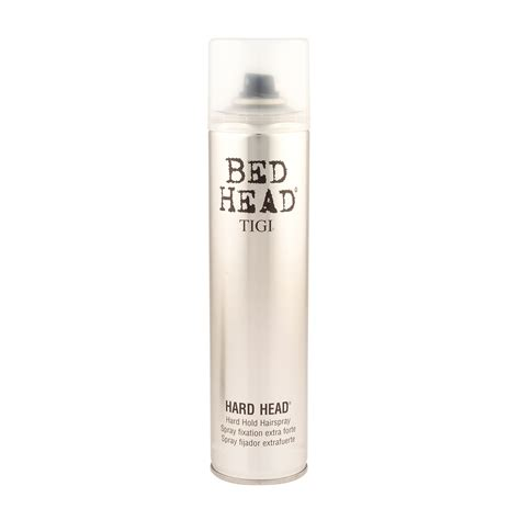 tigi bed head hard head hairspray 385ml feelunique