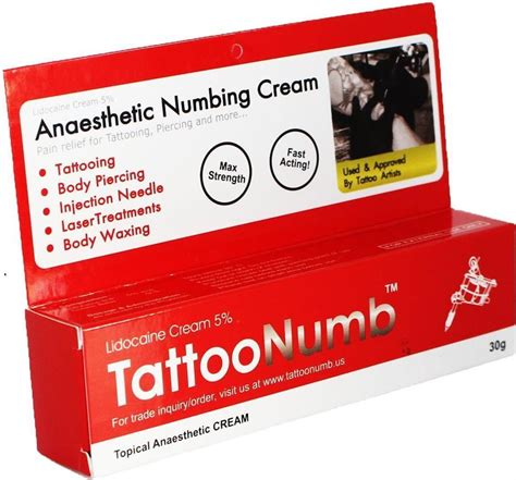 numbing tattoo cream numbing numbing walgreens for