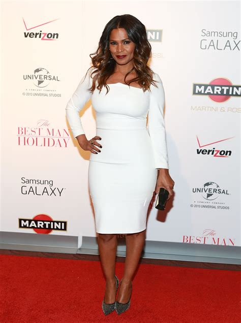 nia longs hairdo in best man holiday on the scene the best man holiday new york city screening
