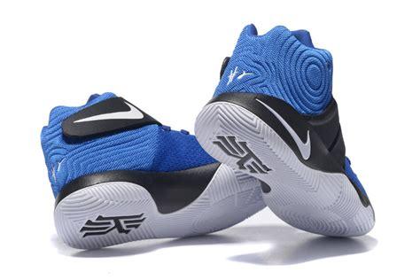 blue and black basketball shoes nike kyrie 2 blue black basketball shoes nike4108 85