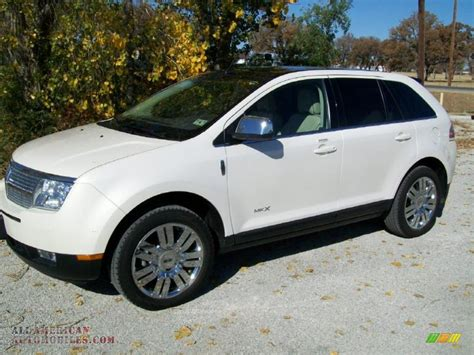 2008 lincoln mkx limited edition 2008 lincoln mkx limited edition in white chocolate tri