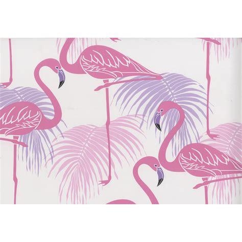 flamingo wallpaper kitchen fine decor flamingo pink and purple wallpaper fd42214