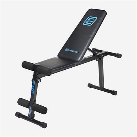Banc Musculation Intersport by Banc De Musculation Utility Bench 10 Energetics Intersport