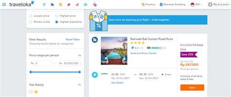 Tiket Pesawat Promo Bali review paket tiket pesawat dan hotel murah di traveloka portal seputar cimanggu bogor