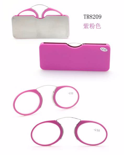 fashional designed mini wallet reading glasses without arm