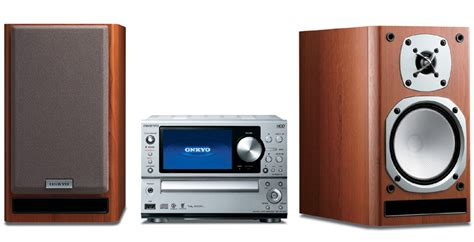 onkyo releases stereo system with hdd and featuring