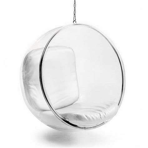round chairs for bedrooms round glass chair with stainless steel frame and white