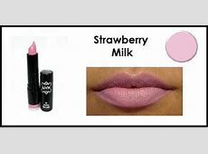 NYX Round Lipstick*Strawberry Milk*opaque pink*NEW | eBay Nyx Strawberry Milk Lipstick