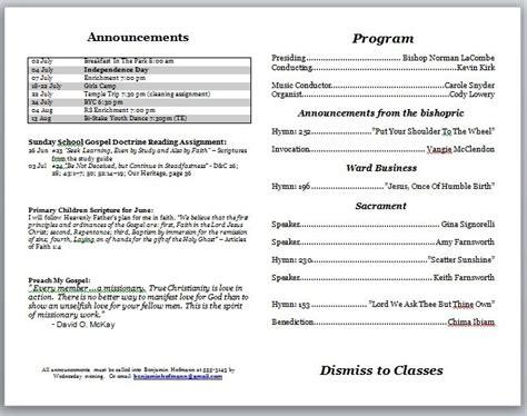 free printable church program template hydrangea free printable church program template invitation template