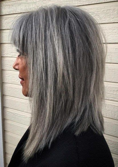 gray hair color ideas  hairstyles   hair