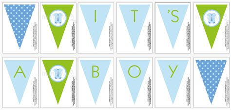 diy baby shower banner template craving a baby boy diy shower banner