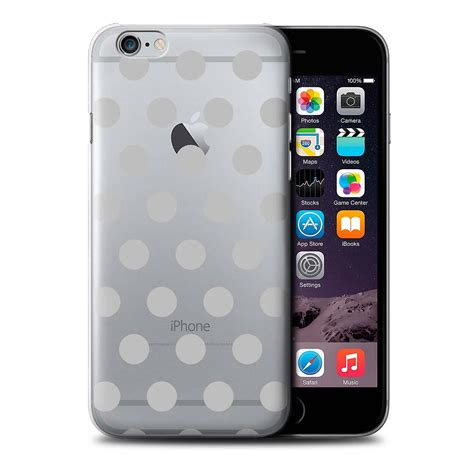 Iphone 6 47 Polkadots Design stuff4 phone cover for apple iphone 6s plus silver
