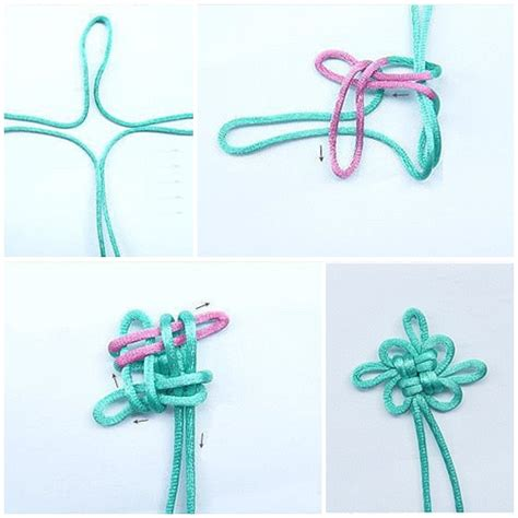 How To Macrame Knots Step By Step - how to make lovely knot step by step diy tutorial