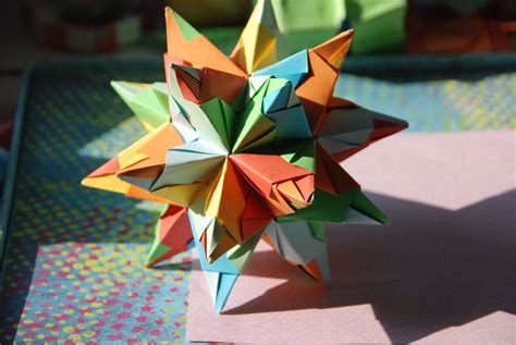Everything Origami - everything origami great stellated dodecahedron